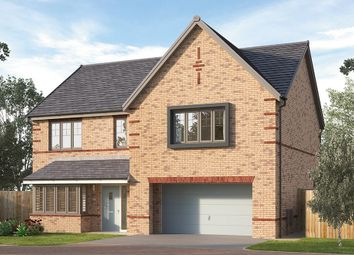 "Thumbnail 5 bed detached house for sale in ""The Chesham"" at Pennyfine Road, Sunniside, Newcastle Upon Tyne"