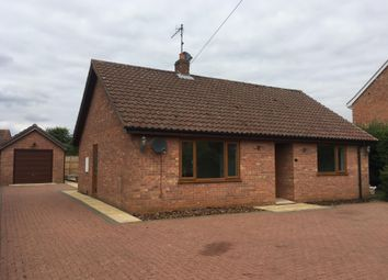 Thumbnail 2 bed bungalow to rent in Vong Lane, Pott Row, King's Lynn