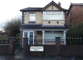 Thumbnail 5 bed detached house for sale in 130 Broad Green Road, Liverpool