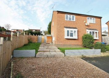 Thumbnail 2 bed semi-detached house for sale in Craggon Drive, New Whittington, Chesterfield