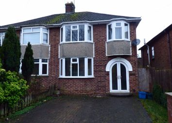 Thumbnail 3 bed semi-detached house for sale in Towcester Road, Northampton