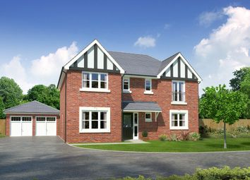 """Thumbnail 5 bed detached house for sale in """"Laurieston"""" at Palladian Gardens, Hooton Road, Hooton, Wirral"""