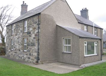 Thumbnail 4 bed farmhouse to rent in Pontllyfni, Caernarfon