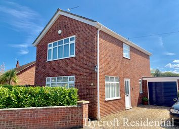 Thumbnail 3 bed detached house for sale in Crossways, Ormesby St Margaret, Great Yarmouth