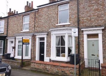 Thumbnail 2 bed terraced house to rent in Park Crescent, York