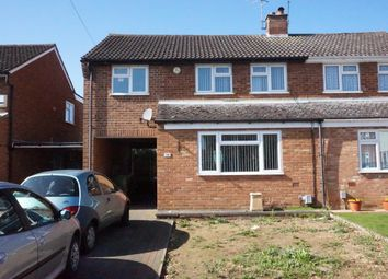 Thumbnail 3 bed semi-detached house for sale in Foston Close, Luton