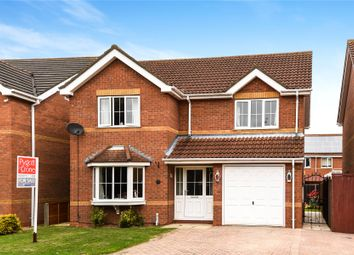 Thumbnail 4 bed detached house for sale in Mayfield Close, Scartho