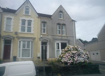 Thumbnail 1 bed flat to rent in King Edwards Road, Swansea