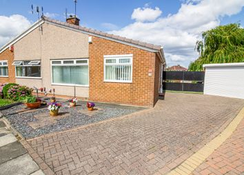 Thumbnail 2 bed semi-detached bungalow for sale in Seamer Close, Tollesby, Middlesbrough