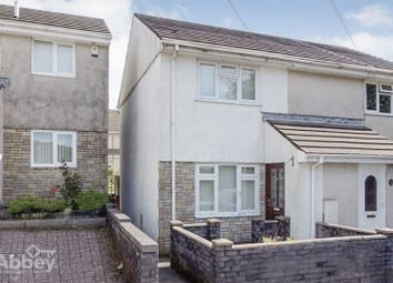 Thumbnail 2 bed semi-detached house for sale in Brunel Close, Tonna, Neath