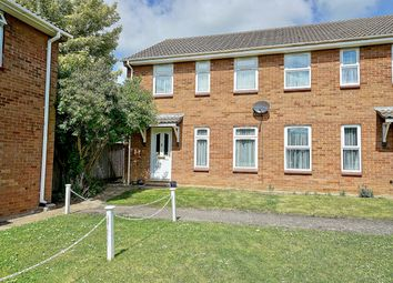 Thumbnail 3 bed semi-detached house for sale in Edwards Walk, Earith, Huntingdon, Cambridgeshire