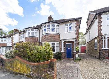 Thumbnail 3 bed semi-detached house for sale in Clive Road, Twickenham