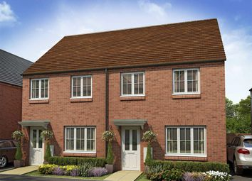 "Thumbnail 3 bed terraced house for sale in ""The Hanbury"" at Whitelands Way, Bicester"