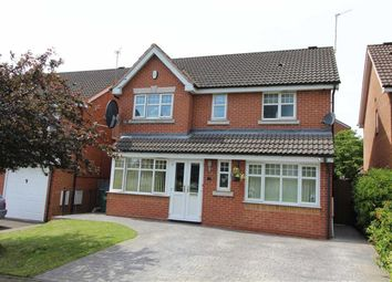 Thumbnail 4 bedroom detached house for sale in Oxford Way, Tipton