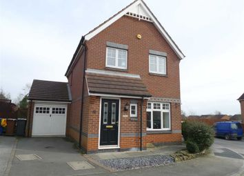 Thumbnail 3 bed detached house for sale in Harrow Drive, Ilkeston, Derbyshire