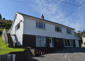 Thumbnail 4 bed detached house for sale in Banc Bach, Penclawdd, Swansea