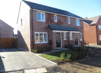 Thumbnail 3 bed semi-detached house to rent in Chapman Drive, Paragon Park, Coventry