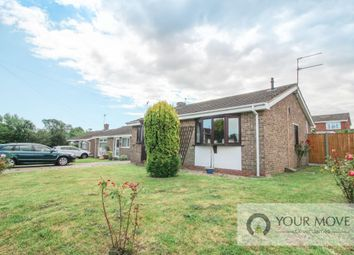Thumbnail 2 bed bungalow for sale in Pinewood Gardens, North Cove, Beccles