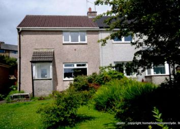 Thumbnail 2 bed semi-detached house for sale in Larkfield Road, Greenock