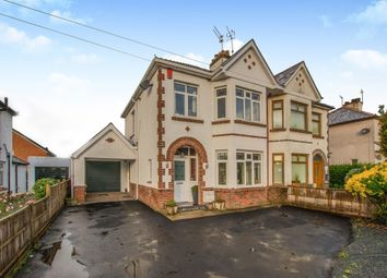 Thumbnail 3 bedroom semi-detached house for sale in Catsash Road, Langstone, Newport
