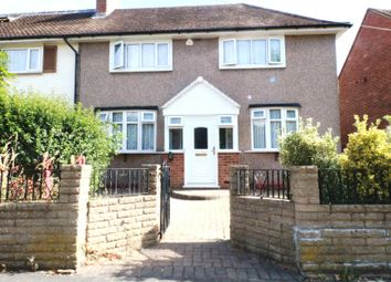 Thumbnail 3 bed semi-detached house to rent in Rush Green Road, Romford, Essex RM70Nh