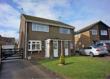 Thumbnail 2 bed semi-detached house for sale in Sandringham Close, Seaford