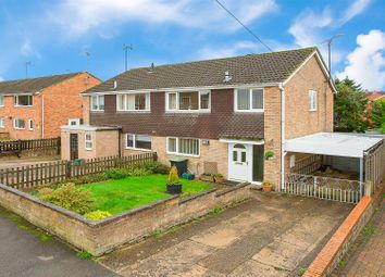 Thumbnail 3 bed semi-detached house for sale in Spinney Close, Thrapston