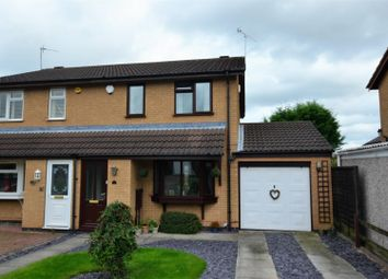 Thumbnail 3 bedroom semi-detached house for sale in Beardmore Close, Oakwood, Derby