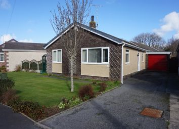 Thumbnail 3 bed detached bungalow for sale in Garreglwyd Park, Holyhead