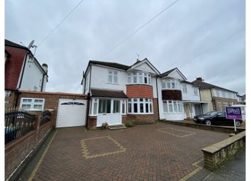 Thumbnail 3 bed semi-detached house for sale in Lyndhurst Gardens, Enfield