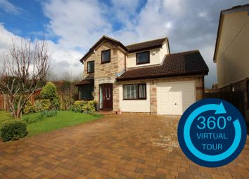 Thumbnail 4 bed detached house for sale in Pinn Valley Road, Pinhoe, Exeter