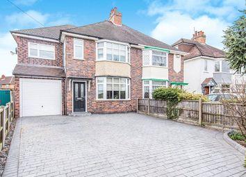 Thumbnail 4 bed semi-detached house for sale in Nuneaton Road, Bulkington, Bedworth