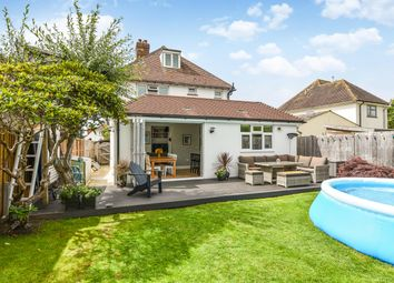 Thumbnail 4 bed detached house for sale in The Crescent, Felpham