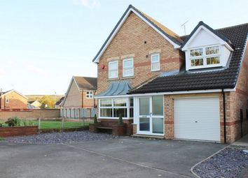 Thumbnail 4 bed detached house for sale in Cortworth Place, Elsecar, Barnsley, South Yorkshire