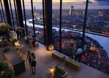 Thumbnail 1 bed flat for sale in The Landmark Pinnacle, Isle Of Dogs, London