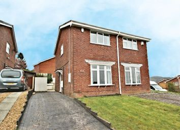 Thumbnail 2 bedroom semi-detached house for sale in Powy Drive, Kidsgrove, Stoke-On-Trent