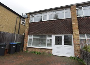 Thumbnail 3 bed end terrace house to rent in Lavender Hill, Enfield, Middlesex