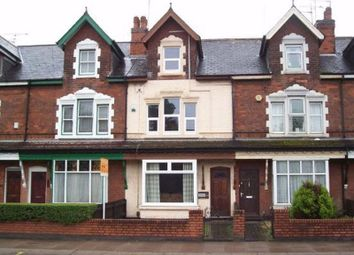 Thumbnail 4 bedroom terraced house to rent in Pershore Road, Selly Park, Birmingham.