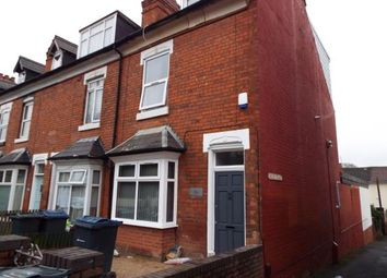 Thumbnail 6 bed end terrace house for sale in Pershore Road, Selly Park, Birmingham, West Midlands