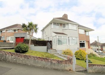 Thumbnail 3 bed semi-detached house for sale in Churchway, Weston Mill