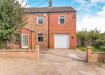 Thumbnail 4 bedroom semi-detached house for sale in Straight Drove, Farcet, Peterborough
