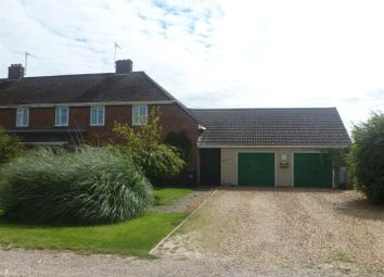 Thumbnail 3 bed semi-detached house for sale in School Drove, Ramsey Heights, Huntingdon