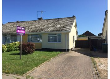 Thumbnail 2 bed semi-detached bungalow for sale in Ambersham Crescent, East Preston