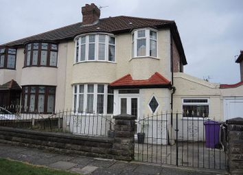 Thumbnail 3 bed semi-detached house for sale in 6 Avolon Road, West Derby, Liverpool