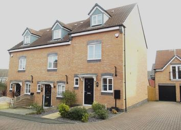 Thumbnail 3 bed town house for sale in Wessex Drive, Giltbrook