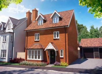 Thumbnail 4 bedroom detached house for sale in Cambridge Road, Stansted