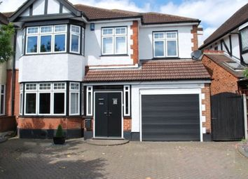 Thumbnail 4 bed semi-detached house for sale in Corbets Tey Road, Upminster