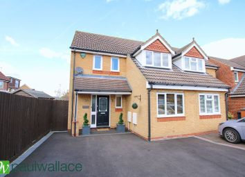 Thumbnail 3 bed detached house to rent in Shambrook Road, Cheshunt, Waltham Cross