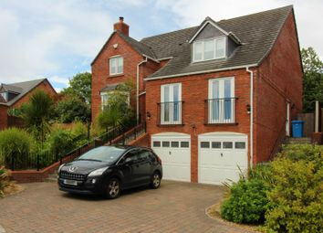 Thumbnail 4 bed detached house for sale in Houndel Grove, Wolverhampton