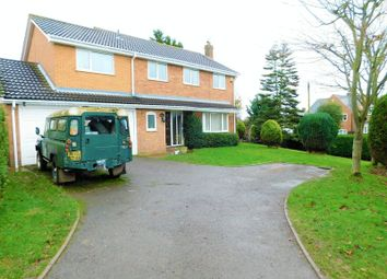 Thumbnail 5 bed detached house for sale in Ashmore Drive, Gnosall, Stafford